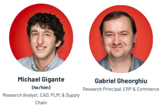 G2 analysts Michael Gigante and Gabriel Gheorghiu