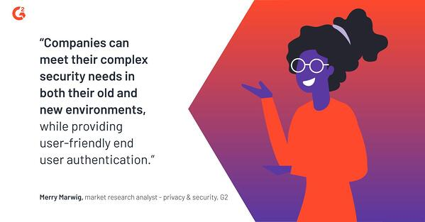With identity and access management (IAM), companies can meet complex security needs in both old and new environments while providing user-friendly end user authentication